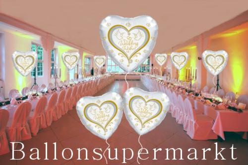 Luftballons bilder for Hochzeit raumdeko